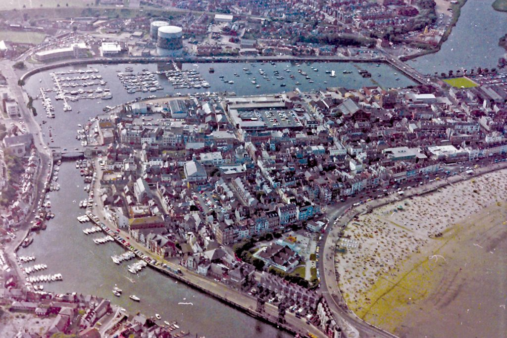 Weymouth 1978 aerial photo