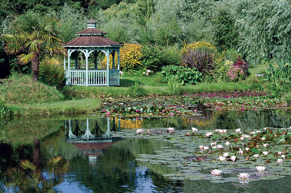 Bennetts Water Gardens gazebo